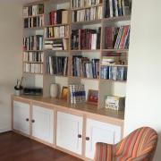Création L'Eben'Istor bibliothèque sur mesure